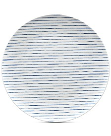 Hammock Coupe Stripes Dinner Plate, Created for Macy's