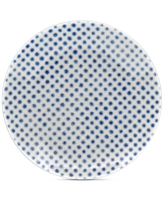 Blue Hammock Coupe Dots Appetizer Plate, Created for Macy's