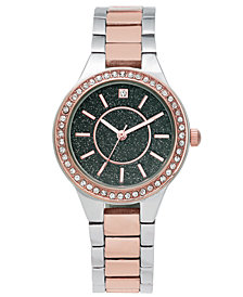 Charter Club Women's Two-Tone Bracelet Watch 32mm, Created for Macy's