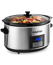 Gourmia DCP-860 8.5-Qt. Programmable Digital Slow Cooker