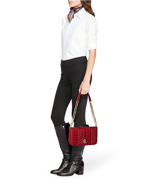 0951b6c13d Lauren Ralph Lauren Quilted Brenda Small Shoulder Bag   Reviews ...