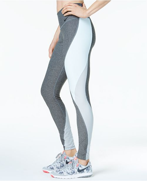 15a48c781fda1 Nike Power Legend Colorblocked Workout Leggings & Reviews ...
