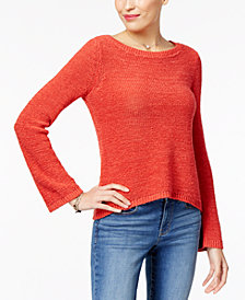 Style & Co Petite Boat-Neck Sweater, Created for Macy's