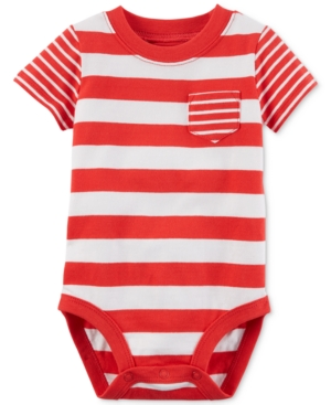 Carters Striped Cotton Bodysuit Baby Boys (024 months)