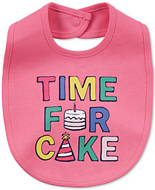 Carter's Time For Cake Cotton Bib, Baby Girls