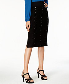 Thalia Sodi Studded Sweater Skirt, Created for Macy's