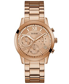 Rose Gold-Tone Stainless Steel Bracelet Watch 40mm
