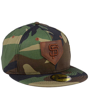 a01b7d4bdab ... coupon code for new era san francisco giants the logo of leather  59fifty fitted cap sports