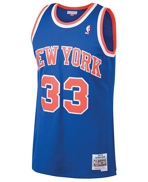b1cc7c899 ... Swingman Jersey; Mitchell & Ness Men's Patrick Ewing New York Knicks  Hardwood Classic Swingman ...