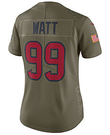 Nike Women's J.J. Watt Houston Texans Salute To Service Jersey