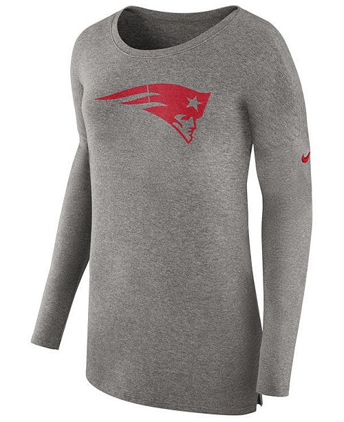 1226b37d020 Nike Women's New England Patriots Cozy Long Sleeve T-Shirt ...
