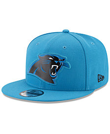 New Era Carolina Panthers Bold Bevel 9FIFTY Snapback Cap