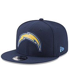 New Era Los Angeles Chargers Bold Bevel 9FIFTY Snapback Cap