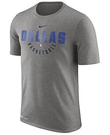Nike Men's Dallas Mavericks Dri-FIT Cotton Practice T-Shirt
