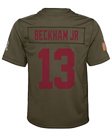 Nike Odell Beckham Jr. New York Giants Salute To Service Jersey, Big Boys