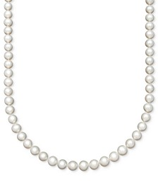 "Pearl AA+ 16"" Cultured Freshwater Pearl Strand (8-1/2-9-1/2mm) Necklace in 14k Gold"