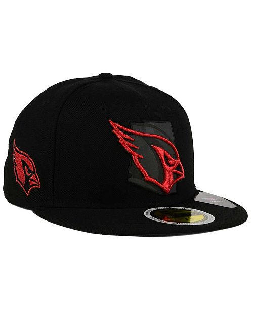 a739fdae38c14b ... New Era Arizona Cardinals State Flective Metallic 59FIFTY Fitted Cap ...