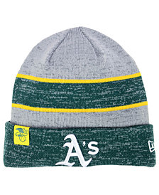 New Era Oakland Athletics On Field Sport Knit Hat