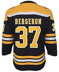 Authentic NHL Apparel Patrice Bergeron Boston Bruins Player Replica Jersey, Big Boys (8-20)