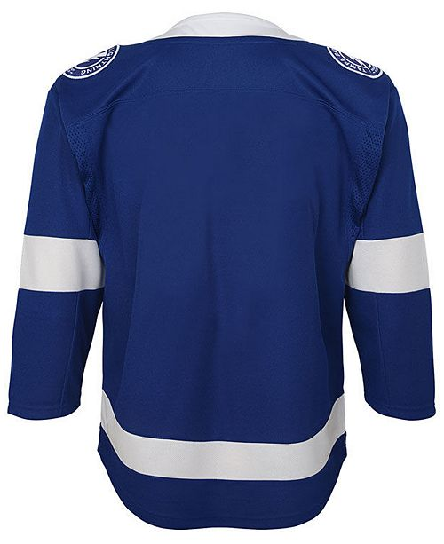 Authentic NHL Apparel Tampa Bay Lightning Premier Blank
