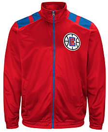 G-III Men's Sports Los Angeles Clippers Broad Jump Track Jacket