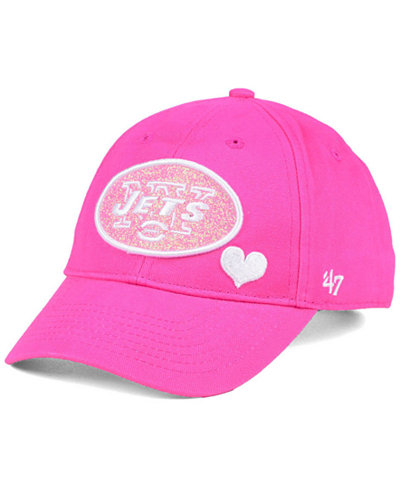 '47 Brand Girls' New York Jets Sugar Sweet MVP Cap