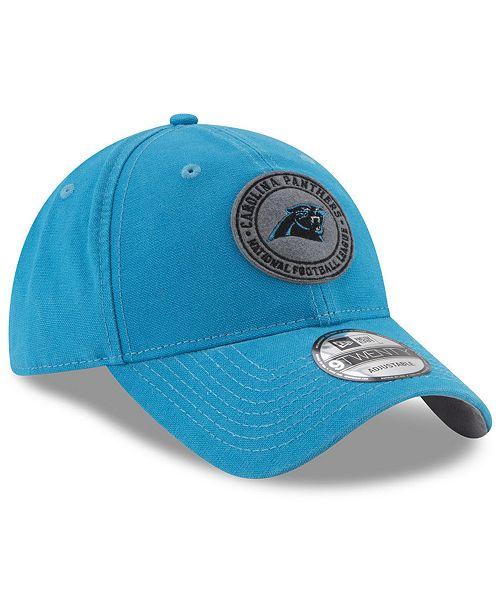 New Era Carolina Panthers The Varsity 9TWENTY Cap