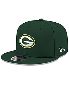 Green Bay Packers Team Color Basic 9FIFTY Snapback Cap