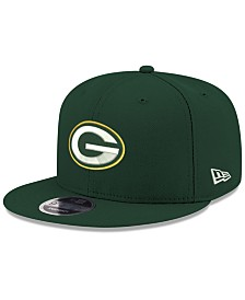 New Era Green Bay Packers Team Color Basic 9FIFTY Snapback Cap