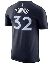 Men's Karl-Anthony Towns Minnesota Timberwolves Name & Number Player T-Shirt