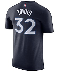 Nike Men's Karl-Anthony Towns Minnesota Timberwolves Name & Number Player T-Shirt