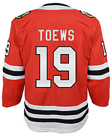 Authentic NHL Apparel Jonathan Toews Chicago Blackhawks Premier Player Jersey, Big Boys (8-20)