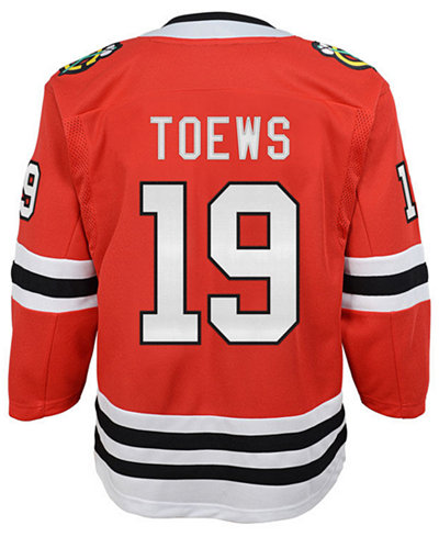 adidas Jonathan Toews Chicago Blackhawks Premier Player Jersey, Big Boys (8-20)