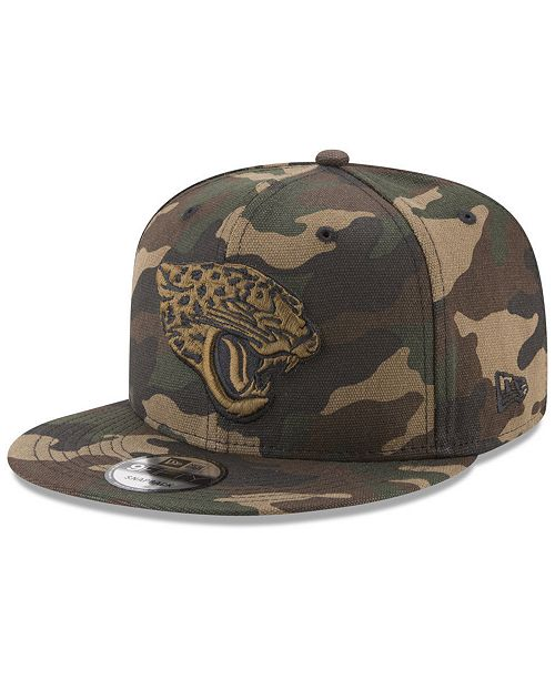 new product cb9ae 872d5 ... New Era Jacksonville Jaguars Camo on Canvas 9FIFTY Snapback Cap ...