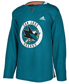 adidas Men's San Jose Sharks Authentic Pro Practice Jersey