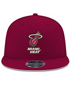 New Era Miami Heat Basic Link 9FIFTY Snapback Cap