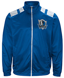 G-III Men's Sports Dallas Mavericks Broad Jump Track Jacket