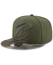 New Era Cleveland Cavaliers Operation Camo 9FIFTY Snapback Cap