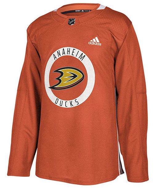 the latest 2bc7f ffafa Men's Anaheim Ducks Authentic Pro Practice Jersey