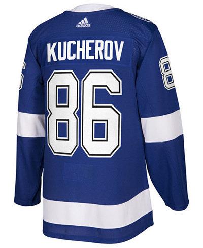 adidas Men's Nikita Kucherov Tampa Bay Lightning Authentic Player Jersey