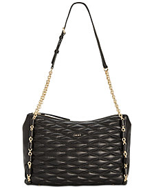 Dkny Lara Top Zip Shoulder Bag Created For Macy S