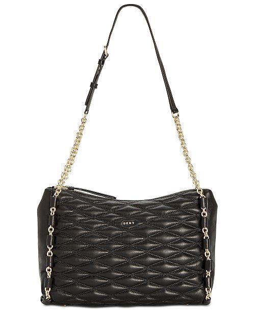 Lara Top-Zip Shoulder Bag, Created for Macy's