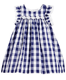 Marmellata Gingham-Print Dress, Baby Girls
