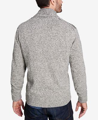 Weatherproof Vintage Men's Fair Isle Cardigan - Sweaters - Men ...