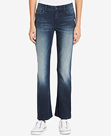 Calvin Klein Jeans Curvy-Fit Bootcut Jeans