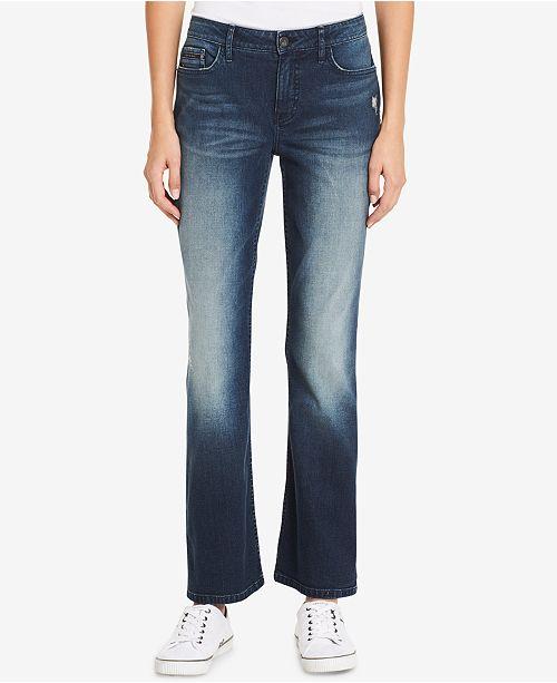 0160a6527e955 Calvin Klein Jeans Curvy-Fit Bootcut Jeans   Reviews - Jeans ...