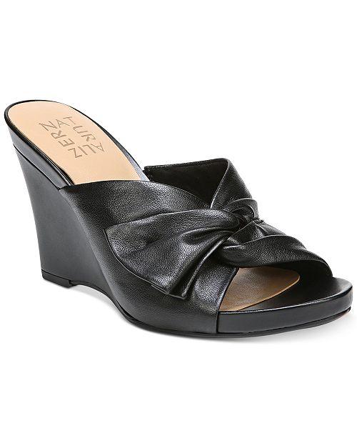f45b600699d0 Naturalizer Breanna Wedge Sandals   Reviews - Sandals   Flip ...