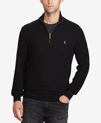 Polo Ralph Lauren Mens Half Zip Sweater Sweaters Men Macys