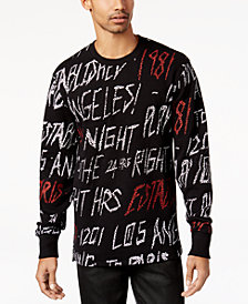 GUESS Men's Roy Graphic-Print Sweatshirt