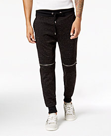 GUESS Men's Moto Joggers